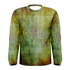 Grunge texture               Men Long Sleeve T-shirt