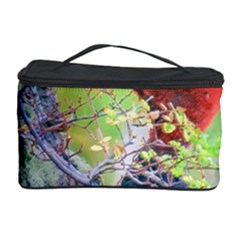 Woodpecker At Forest Pecking Tree, Patagonia, Argentina Cosmetic Storage Case