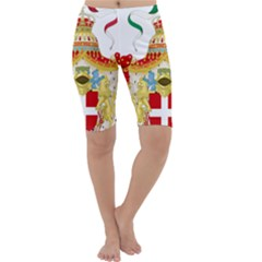 Coat of Arms of The Kingdom of Italy Cropped Leggings