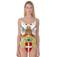 Coat of Arms of The Kingdom of Italy Camisole Leotard