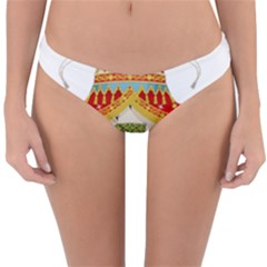 Coat of Arms of The Kingdom of Italy Reversible Hipster Bikini Bottoms