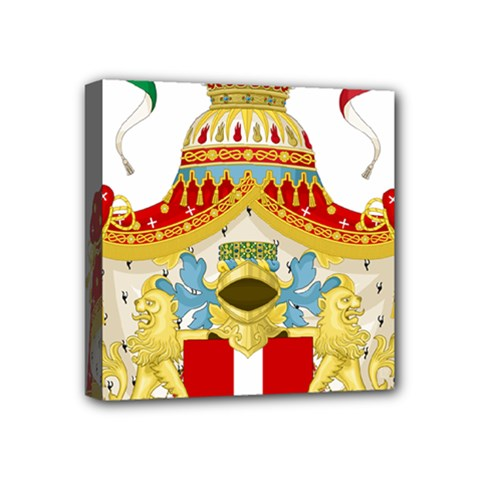 Coat of Arms of The Kingdom of Italy Mini Canvas 4  x 4