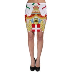 Coat of Arms of The Kingdom of Italy Bodycon Skirt