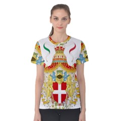 Coat of Arms of The Kingdom of Italy Women s Cotton Tee
