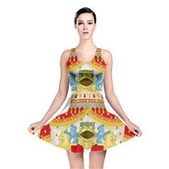 Coat of Arms of The Kingdom of Italy Reversible Skater Dress