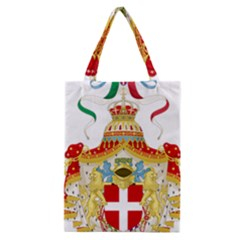 Coat of Arms of The Kingdom of Italy Classic Tote Bag
