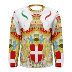 Coat of Arms of The Kingdom of Italy Men s Long Sleeve Tee
