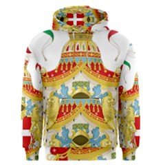Coat of Arms of The Kingdom of Italy Men s Pullover Hoodie