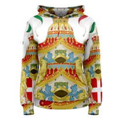Coat of Arms of The Kingdom of Italy Women s Pullover Hoodie