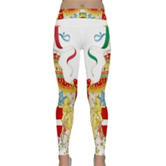 Coat of Arms of The Kingdom of Italy Classic Yoga Leggings