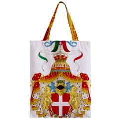 Coat of Arms of The Kingdom of Italy Zipper Classic Tote Bag