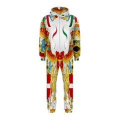 Coat of Arms of The Kingdom of Italy Hooded Jumpsuit (Kids)