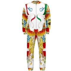 Coat of Arms of The Kingdom of Italy OnePiece Jumpsuit (Men)