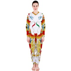 Coat of Arms of The Kingdom of Italy OnePiece Jumpsuit (Ladies)