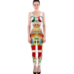 Coat of Arms of The Kingdom of Italy OnePiece Catsuit