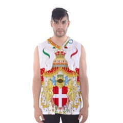 Coat of Arms of The Kingdom of Italy Men s Basketball Tank Top