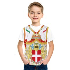 Coat of Arms of The Kingdom of Italy Kids  SportsWear