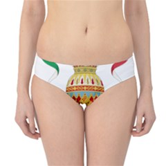 Coat of Arms of The Kingdom of Italy Hipster Bikini Bottoms