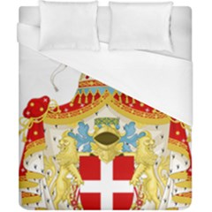 Coat of Arms of The Kingdom of Italy Duvet Cover (California King Size)