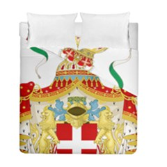 Coat of Arms of The Kingdom of Italy Duvet Cover Double Side (Full/ Double Size)
