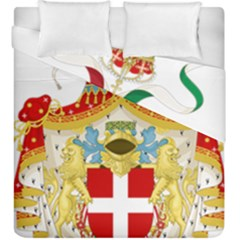 Coat of Arms of The Kingdom of Italy Duvet Cover Double Side (King Size)