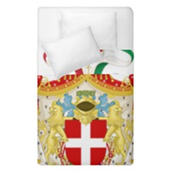 Coat of Arms of The Kingdom of Italy Duvet Cover Double Side (Single Size)