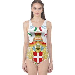 Coat of Arms of The Kingdom of Italy One Piece Swimsuit
