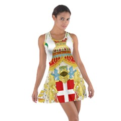 Coat of Arms of The Kingdom of Italy Cotton Racerback Dress