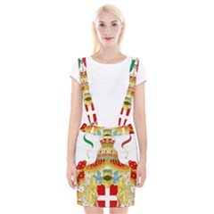 Coat of Arms of The Kingdom of Italy Braces Suspender Skirt