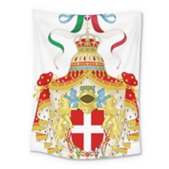 Coat of Arms of The Kingdom of Italy Medium Tapestry