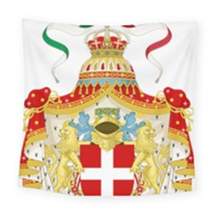 Coat of Arms of The Kingdom of Italy Square Tapestry (Large)