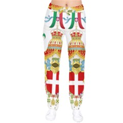 Coat of Arms of The Kingdom of Italy Drawstring Pants
