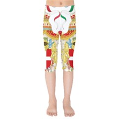 Coat of Arms of The Kingdom of Italy Kids  Capri Leggings