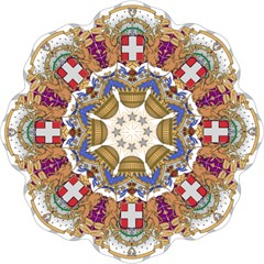 Greater Coat of Arms of Italy, 1870-1890  Folding Umbrellas