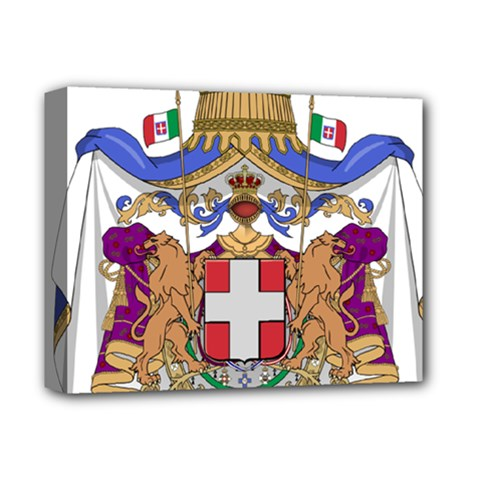 Greater Coat of Arms of Italy, 1870-1890  Deluxe Canvas 14  x 11