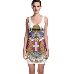 Greater Coat of Arms of Italy, 1870-1890  Sleeveless Bodycon Dress