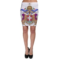 Greater Coat of Arms of Italy, 1870-1890  Bodycon Skirt