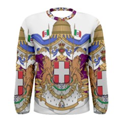 Greater Coat of Arms of Italy, 1870-1890  Men s Long Sleeve Tee