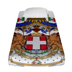 Greater Coat of Arms of Italy, 1870-1890  Fitted Sheet (Single Size)