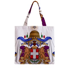 Greater Coat of Arms of Italy, 1870-1890  Zipper Grocery Tote Bag