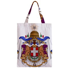 Greater Coat of Arms of Italy, 1870-1890  Zipper Classic Tote Bag
