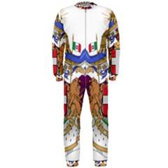 Greater Coat of Arms of Italy, 1870-1890  OnePiece Jumpsuit (Men)