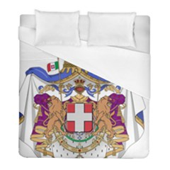 Greater Coat of Arms of Italy, 1870-1890  Duvet Cover (Full/ Double Size)