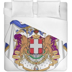 Greater Coat of Arms of Italy, 1870-1890  Duvet Cover (King Size)