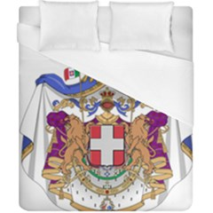 Greater Coat of Arms of Italy, 1870-1890  Duvet Cover (California King Size)