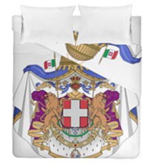 Greater Coat of Arms of Italy, 1870-1890  Duvet Cover Double Side (Queen Size)