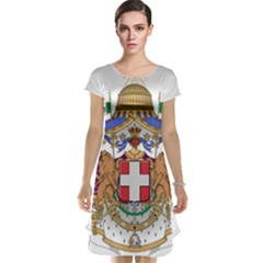 Greater Coat of Arms of Italy, 1870-1890  Cap Sleeve Nightdress