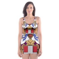 Greater Coat of Arms of Italy, 1870-1890  Skater Dress Swimsuit