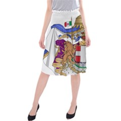 Greater Coat of Arms of Italy, 1870-1890  Midi Beach Skirt