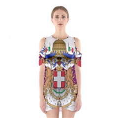 Greater Coat of Arms of Italy, 1870-1890  Shoulder Cutout One Piece